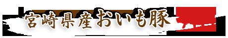 宮崎県産おいも豚